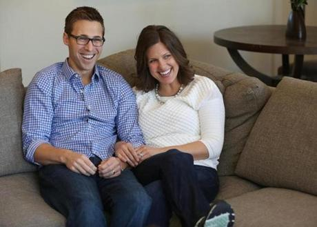 Patrick Downes and Jessica Kensky, who each lost a left leg in the Boston Marathon bombings, captured the public's heart after a friend posted their engagement photo on a website within hours of the attack.