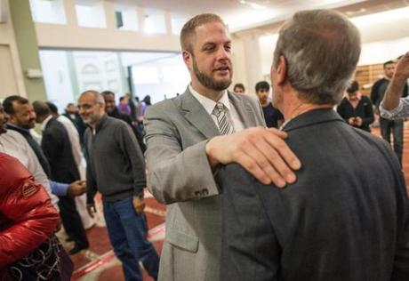 """What we learned is, this is a really great city with incredibly sincere people,"" said Imam William Suhaib Webb, of the Islamic Society of Boston Cultural Center."