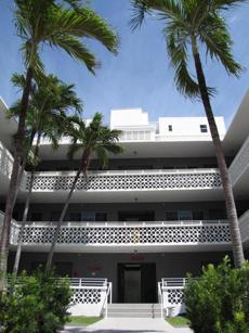 Hotel Gathering is located in a residential neighborhood in South Beach.