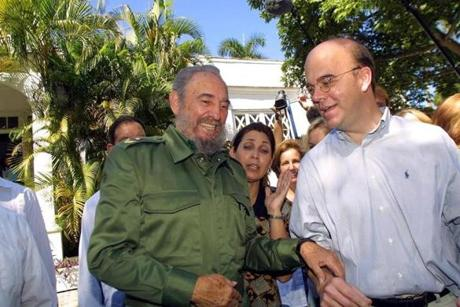 On Nov. 11, 2002, in Havana, Cuban leader Fidel Castro and US Representative James P. McGovern of Massachusetts signed a pact to open the Hemingway archives.