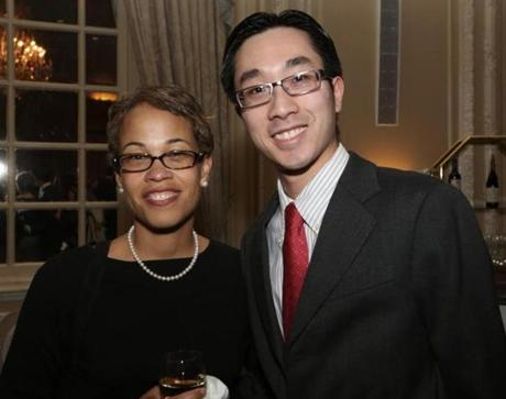 Penny Harrison of Randolph and Justin Tsoi of Hingham.