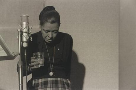 "Hinton's ""Billie Holiday, Recording Studio, N.Y.C."""