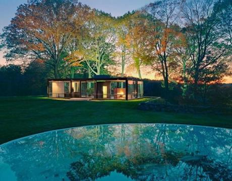 "Besotted with ""Mad Men"" and all things midcentury modern? Visit architect Philip Johnson's famous Glass House, open for touring, in New Canaan, Conn."