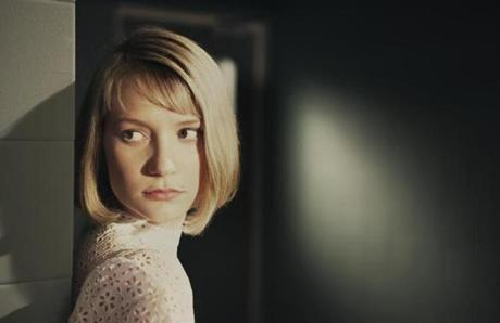 Mia Wasikowska plays Hannah, who falls for the bad boy.