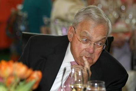 Former mayor Thomas M. Menino attended with his wife, Angela Menino.