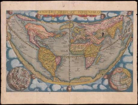 This stolen 16th-century map of the world might have fetched $125,000.
