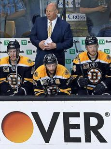"The season is definitely ""over,"" much to the chagrin of Claude Julien and the Bruins."