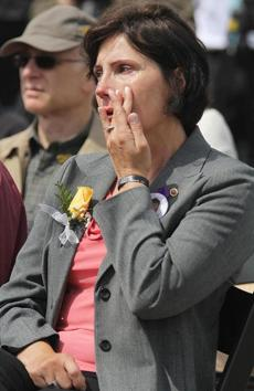 Iwona Londono was at Boston Common, where her son, Sergeant Daniel Londono who died in Iraq in 2004, was also honored.