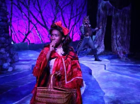"The Lyric Stage Company's production of ""Into the Woods."" Pictured: Maritza Bostic, Maurice Emmanuel Parent. Photo credit: Mark S. Howard -- 01Rise"
