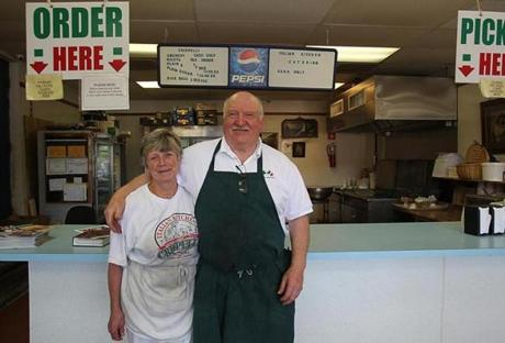 Ruth and Peter Messina own and run The Italian Kitchen in Lawrence.