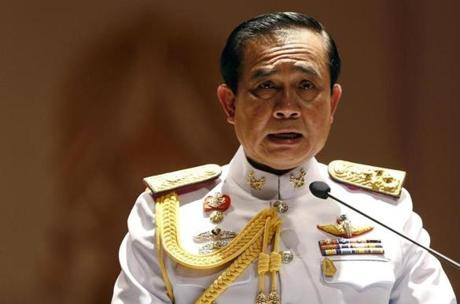 General Prayuth Chan-ocha.