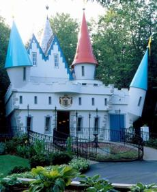 Cinderella's castle at Story Land.