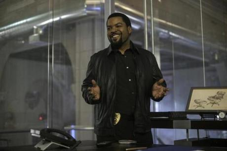 Ice Cube in the 2014 film 22 JUMP STREET, directed by Chris Miller and Phil Lord.