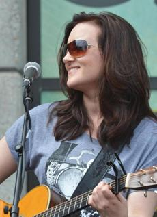 Brandy Clark performed at the Country Music Hall of Fame and Museum in Nashville on June 7.