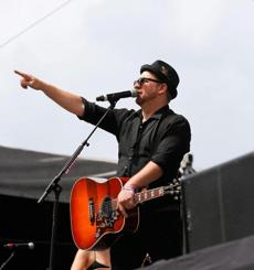 Kristian Bush at Chevy Riverfront Stage June 6 in Nashville.