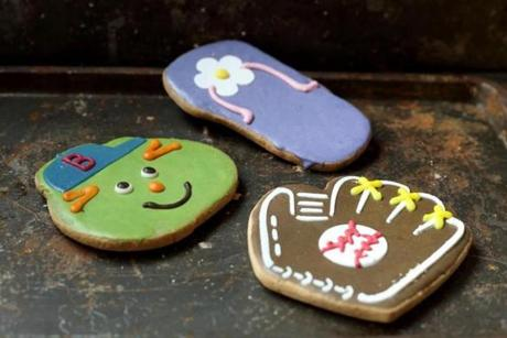 Fancypants Baking Co. started with decorated cookies, baked in a Roslindale apartment. Today, the decorated cookies are still one of the company's best sellers.