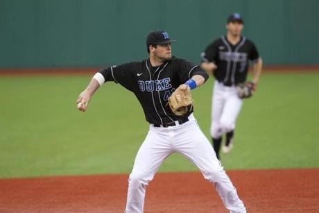 Jordan Betts played 51 games at third for Duke in 2014.