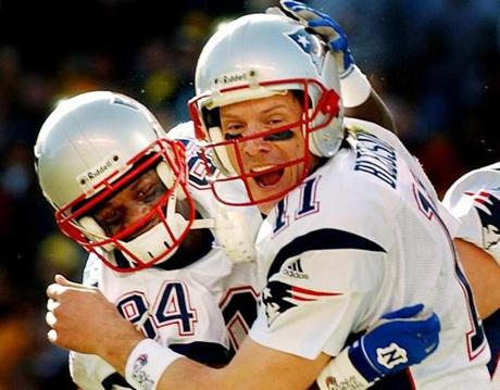 Without Bledsoe's touchdown pass in relief of an injured Brady in the AFC title game, the Patriots may never have reached Super Bowl XXXVI.