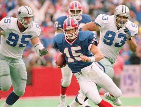 Todd Collins lasted just one season as the starter in Buffalo after replacing Kelly.