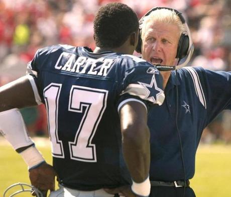 Quincy Carter was thrust into the role of Troy Aikman's replacement and helped the Cowboys earn a playoff berth before Dallas head coach Bill Parcells parted ways with him.