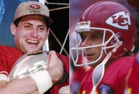 Steve Young went on to win Super Bowl XXIX for the 49ers, while Montana never again reached the final game after arriving in Kansas City.