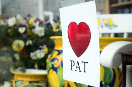 Vineyard Haven Main street businesses pay tribute to Pat Gregory.