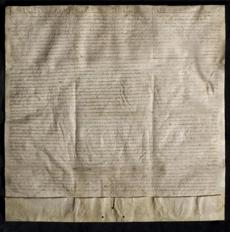 The Lincoln Cathedral's Magna Carta is currently at the MFA and then will go to the Clark Art Institute.