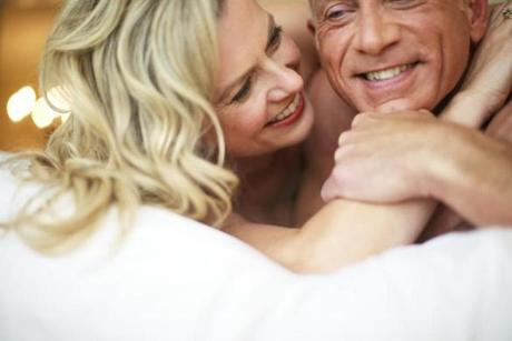 Sixty percent of fiftysomethings report having the best sex of their lives.