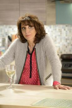 "Andrea Martin as the matriarch in ""Working the Engles."""