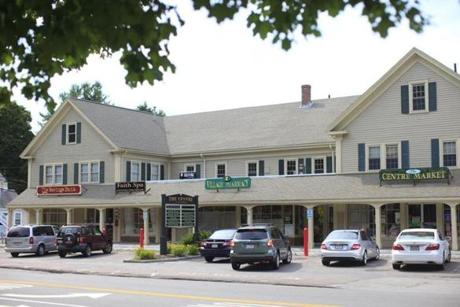 The Village Pharmacy off the Lynnfield Common.