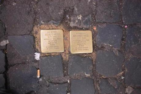 Elsewhere, new small brass markers installed by German artist Gunter Demnig remind Romans of citizens sent to concentration camps during World War II.
