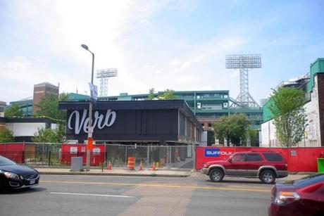 The soon-to-open Verb hotel near Fenway Park uses vintage and funky objects that echo the area's music heritage.
