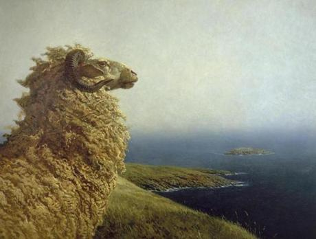 "Jamie Wyeth's ""The Islander."""