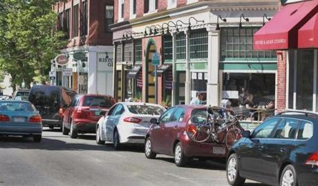Salem created different pricing levels at on-street meters to ensure availability in the most popular downtown areas.