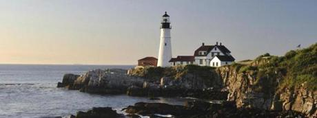 Portland Head Light on Cape Elizabeth