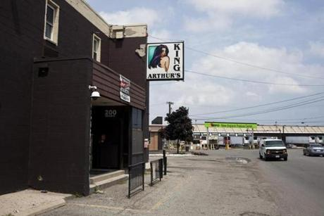 King Arthur's Motel and Lounge was the scene of a beating death involving police in July 1982.