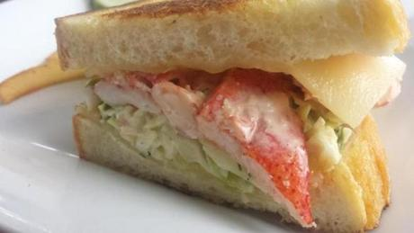 Lobster ReubenBrodie's Seaport, 215 Derby St., SalemOne fateful day, chef Mike Pistorio's father asked him if he had ever considered tossing coleslaw on a fish sandwich. That was the origin of the Lobster Reuben, a $21 sandwich packed with lobster tossed in house-made thousand island dressing, slathered in slaw, and griddled with Swiss cheese on sourdough bread.www.brodiesseaport.com.