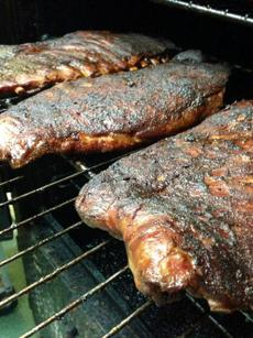 Memphis dry-rubbed ribsBlue Ribbon BBQ, 908 Massachusetts Ave., ArlingtonThe ribs are rubbed with a 15-spice house blend and slow-smoked for five to six hours over hard woods. Then they are slathered with Blue Ribbon's secret rib splash. Also available are pre-rubbed, pre-smoked cold ribs that can be thrown on the grill or taken for a summer adventure. Full slabs, hot or cold, cost $25. Platters are available in 1/3 or 1/2 slabs with two sides and cornbread, and cost $15 and $17, respectively.www.blueribbonbbq.com.