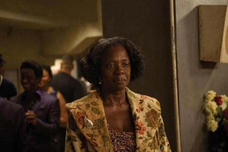 "Viola Davis as James Brown's mother in ""Get on Up."""