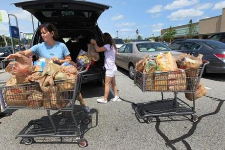 """The prices, I thought, were more reasonable than I'd planned on,"" said Kristen Gobiel, who shopped at Hannaford."