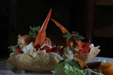 The Lobster Taco is one of many great items on the menu.