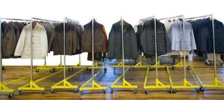 Some of the outerwear produced by the company, in which Povich is an investor.