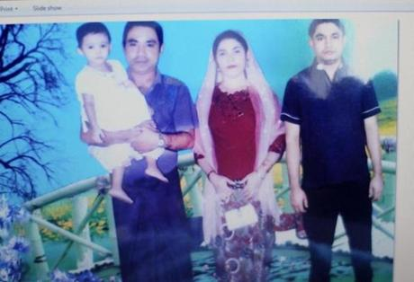 Muzafar Jalil's two sons, daughter-in-law, and grandchildren, who are still in Myanmar. The 63-year-old Nashua resident calls to bridge the distance — and to ensure they're still alive.