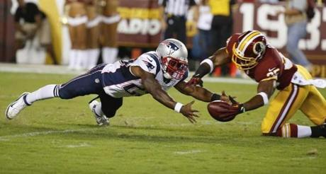 The Patriots fell 23-6 to the Redskins in the preseason game.
