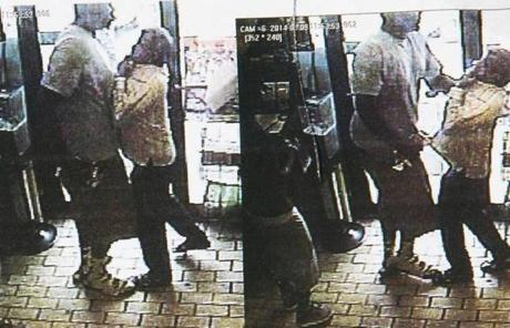 Images were released of an incident in a store in Ferguson, Mo. on August 9. According to the police reports, Michael Brown and his friend, Dorian Johnson, were suspected of taking a box of cigars from the store.