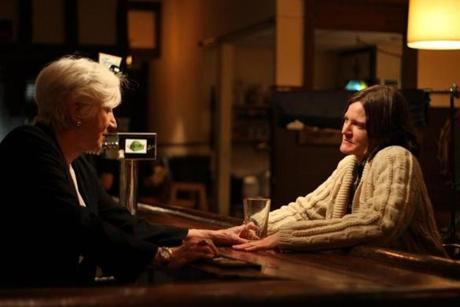 From left: Olympia Dukakis and Ingrid Jungermann.
