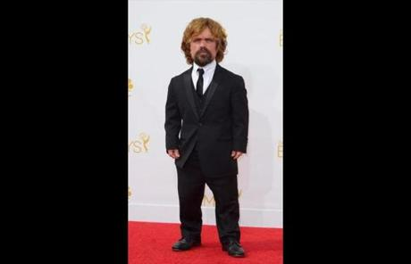 "Peter Dinklage was nominated for supporting actor, drama, for ""Game of Thrones."""