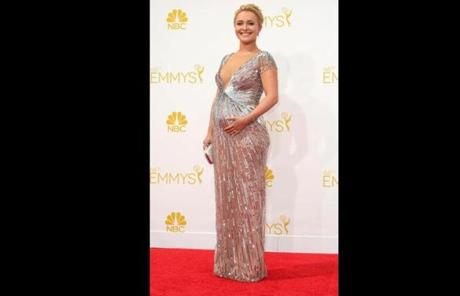 Hayden Panettiere arrived at the Nokia Theatre.