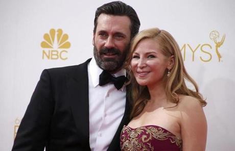 Actor Jon Hamm, nominated for male actor, drama, for his role in