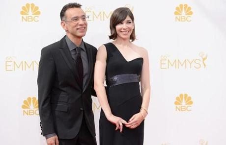 """Portlandia"" stars Fred Armisen and Carrie Brownstein. Armisen was nominated for supporting actor, comedy."